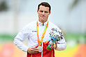 Kris Bosmans (BEL), <br /> SEPTEMBER 16, 2016 - Cycling - Road : <br /> Men's Road Race C1-2-3 Medal Ceremony <br /> at Pontal <br /> during the Rio 2016 Paralympic Games in Rio de Janeiro, Brazil.<br /> (Photo by AFLO SPORT)