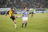 VOETBAL: SC HEERENVEEN: Abe Lenstra Stadion, 17-02-2012, SC-Heerenveen-NAC, Eredivisie, Eindstand 1-0, Geert Arend Roorda, Kees Luijckx, ©foto: Martin de Jong