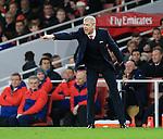 Arsenal's Arsene Wenger in action<br /> <br /> Barclays Premier League- Arsenal vs Manchester City - Emirates Stadium - England - 21st December 2015 - Picture David Klein/Sportimage