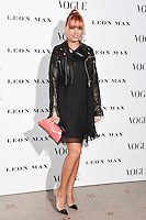 Amber Le Bon<br /> at the Vogue 100: A Century of Style exhibition opening held in the National Portrait Gallery, London.<br /> <br /> <br /> ©Ash Knotek  D3080 09/02/2016