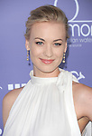 Yvonne Strahovski attends the Australians in Film 8th Annual Breakthrough Awards held at The Hotel Intercontinental in Century City, California on June 27,2012                                                                               © 2012 Hollywood Press Agency