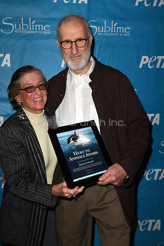 FORT LAUDERDALE, FL - JANUARY 11: Television icon James Cromwell receives PETA's annual Hero to Animals Award at a special dinner honoring him at South Florida's Sublime Restaurant &amp; Bar on January 11, 2018 in Fort Lauderdale, Florida<br /> Credit: Hoo-Me.com / MediaPunch<br /> <br /> <br /> <br /> Transmission Ref:  FLXX