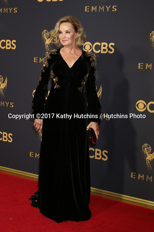 LOS ANGELES - SEP 17:  Jessica Lange at the 69th Primetime Emmy Awards - Arrivals at the Microsoft Theater on September 17, 2017 in Los Angeles, CA