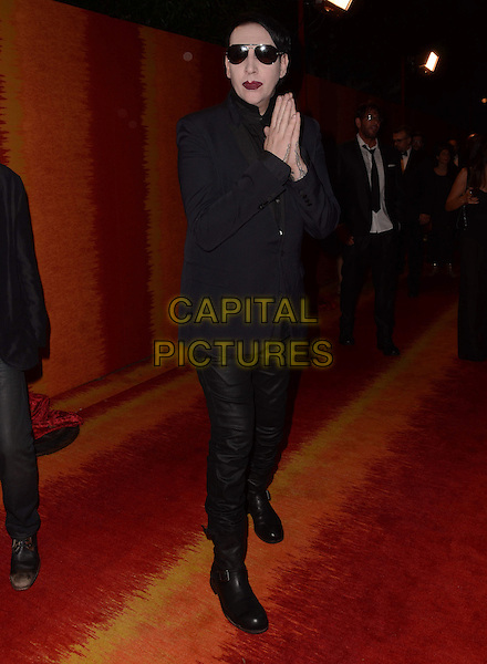 20 September  2015 - West Hollywood, California - Marilyn Manson. Arrivals for the 2015 HBO Emmy Party held at the Pacific Design Center. <br /> CAP/ADM/BT<br /> &copy;BT/ADM/Capital Pictures