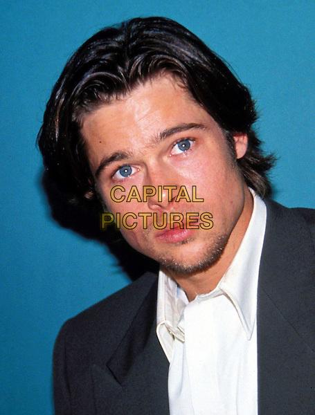 BRAD PITT..Ref:043..funny face, headshot, portrait, facial hair, stubble..www.capitalpictures.com..sales@capitalpictures.com..©Capital Pictures