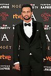 Jesus Castro attends 30th Goya Awards red carpet in Madrid, Spain. February 06, 2016. (ALTERPHOTOS/Victor Blanco)