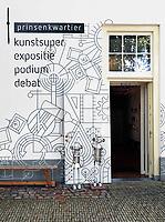 Nederland Delft - Augustus 2018. Prinsenkwartier Kunstsuper.   Foto Berlinda van Dam / Hollandse Hoogte
