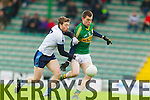 Jack Berry Kerry in action against Cillian Cromwell IT Tralee in the McGrath cup at Austin Stack Park on Sunday.