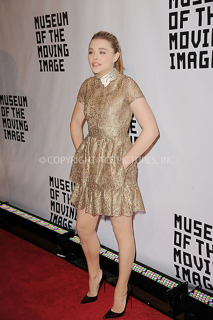 WWW.ACEPIXS.COM<br /> January 20, 2015 New York City<br /> <br /> Chloe Grace Moretz attending the Museum of The Moving Image honors Julianne Moore at 583 Park Avenue on January 20, 2015 in New York City.<br /> <br /> Please byline: Kristin Callahan/AcePictures<br /> <br /> ACEPIXS.COM<br /> <br /> Tel: (212) 243 8787 or (646) 769 0430<br /> e-mail: info@acepixs.com<br /> web: http://www.acepixs.com