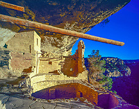 Morning light at Balcony House, Mesa Verde National aprk, Colorado, Ancient Native American ruins Ancestral ruins from AD 1200
