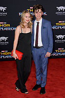 Ryan Simpkins &amp; Ty Simpkins at the premiere for &quot;Thor: Ragnarok&quot; at the El Capitan Theatre, Los Angeles, USA 10 October  2017<br /> Picture: Paul Smith/Featureflash/SilverHub 0208 004 5359 sales@silverhubmedia.com
