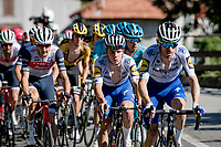 Remco Evenepoel (BEL/Deceuninck-Quickstep) at the front of the peloton <br /> <br /> 114th Il Lombardia 2020 (1.UWT)<br /> 1 day race from Bergamo to Como (ITA/231km) <br /> <br /> ©kramon