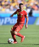 FUSSBALL WM 2014  VORRUNDE    Gruppe H     Belgien - Algerien                       17.06.2014 Dries Mertens (Belgien) am Ball
