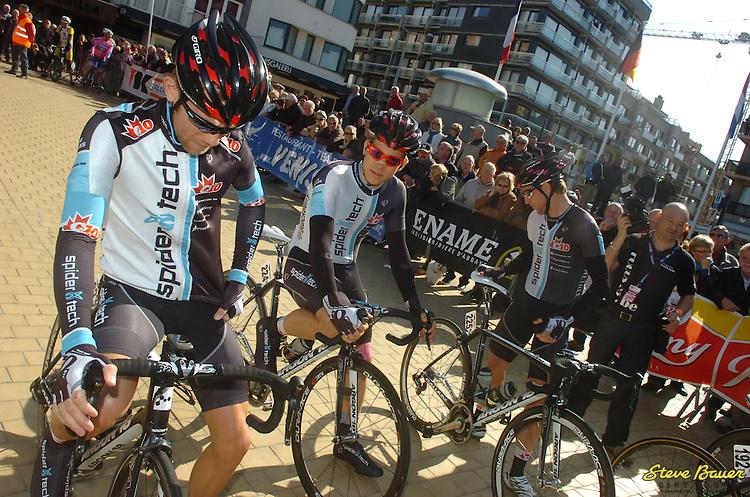 In Middelkerke before the start of the 2012 Dreidaagse de Panne-Koksijde in Belgium.