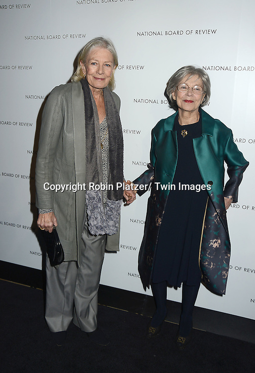 "Vanessa Redgrave and Emmanuelle Riva of ""Amour"" attends the 2013 National Board of Review Awards Gala on January 8, 2013 at Cipriani 42nd Street in New York City."