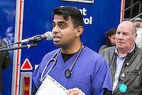 Junior Doctors Protest, Birmingham, 15th Nov 2015