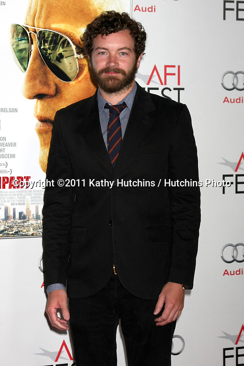 """LOS ANGELES - NOV 5:  Danny Masterson arrives at the AFI FEST 2011 Gala Screening of """"Rampart"""" at Grauman's Chinese Theater on November 5, 2011 in Los Angeles, CA"""