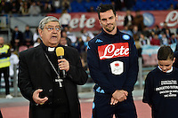 Cresccenzio sepe archubishopon nsp00 during the  italian serie a soccer match,between SSC Napoli and Udinese      at  the San  Paolo   stadium in Naples  Italy , November 08, 2015 Naples