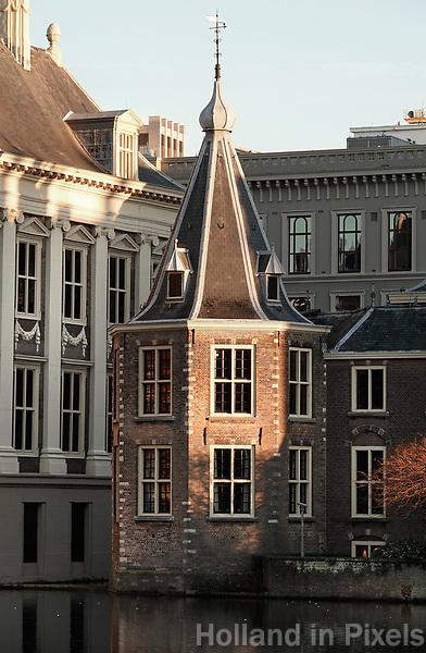 Nederland - Den Haag -  2019.  Het Torentje van de minister-president aan de Hofvijver. Foto Berlinda van Dam / Hollandse Hoogte