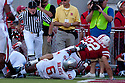04 Sep 2010: Nebraska Cornhuskers running back Rex Burkhead (22) punches one in against Western Kentucky Hilltoppers at Memorial Staduim in Lincoln, Nebraska. Nebraska defeated Western Kentucky 49 to 10.