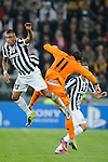 IM Torino 05-11-2013 Juventus Stadium<br /> Champions League 2013/2014<br /> Juventus Vs Real Madrid<br /> nella foto Vidal-Bale<br /> foto Marco Iorio