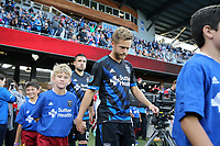 San Jose, CA - Saturday May 19, 2018: Chris Wehan during a Major League Soccer (MLS) match between the San Jose Earthquakes and D.C. United at Avaya Stadium.