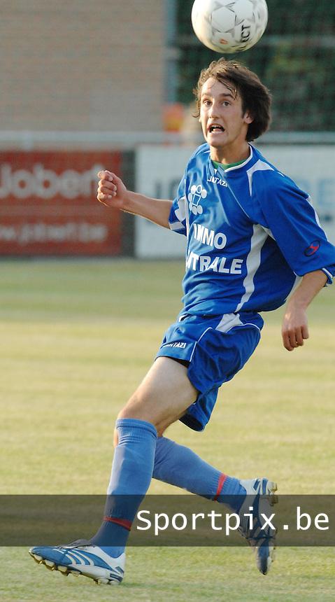 Knokke FC / Stroo Tobin..foto DAVID CATRY / VDB