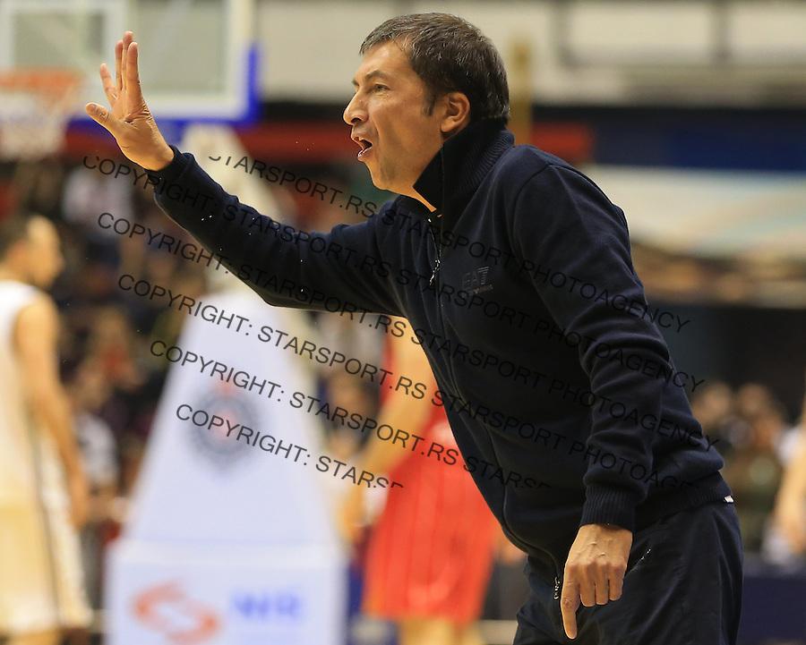 Kosarka Friendly match season 2014-2015<br /> Partizan Vs. Armani Jeans<br /> Head coach Luca Banchi<br /> Beograd, 25.09.2014.<br /> foto: Srdjan Stevanovic/Starsportphoto&copy;