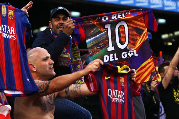 League Santander 2016/2017. Game: 34.<br /> FC Barcelona vs CA Osasuna: 7-1.