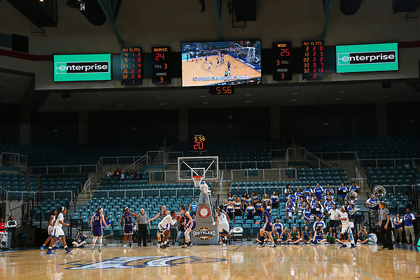 DENTON, TX - MARCH 8: Northwestern State University v Texas A&M Corpus Christi Womens Basketball during the Southland Conference basketball Tournament Game 1at Merrell Center in Katy on March 8, 2017 in Katy, Texas. (Photo by Rick Yeatts)