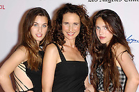 "Andie MacDowell & daughters at the "" Diana Vreeland "" screening in Los Angeles"