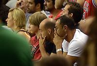 RIO DE JANEIRO RJ, 12.10.2013 - Chicago Bulls vs. Washington Wizards  - Kafu assite ao jogo do  Chicago Bulls  durante partida contra o Wizards  válida pela pré-temporada da NBA 2013/2014  no HSBC ARENA  na cidade do Rio de Janeiro , neste sabado, 12. (FOTO: ALAN MORICI / BRAZIL PHOTO PRESS)