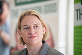 Natalie Bennett.  Green Party general election manifesto launch, Dalston, London.