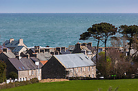 Europe/France/Normandie/Basse-Normandie/50/Manche/Cap de la Hague/Omonville-la-Rogue: Maison du village// Europe/France/Normandie/Basse-Normandie/50/Manche/Cap de la Hague/Omonville-la-Rogue: village house