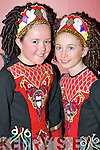 TALENT: Sophianne Horgan and Caoimhe Foley, Killorglin, who danced at the All Ireland Irish Dancing Championships in the INEC Killarney on Tuesday.