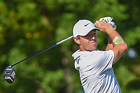 Rory McIlroy (NIR) watches his tee shot on 12 during 1st round of the 100th PGA Championship at Bellerive Country Cllub, St. Louis, Missouri. 8/9/2018.<br /> Picture: Golffile | Ken Murray<br /> <br /> All photo usage must carry mandatory copyright credit (© Golffile | Ken Murray)