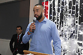 B's Red Player of the Year Asa Lehauli. Counties Manukau Rugby Unions Senior Prize giving held at ECOLight Stadium Pukekohe on Wednesday November 2nd, 2016.<br /> Photo by Richard Spranger.