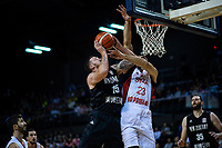 New Zealand's Tom Vodanovich in action during the FIBA World Cup Asia qualifier between the New Zealand Tall Blacks and Syria at TSB Bank Arena in Wellington, New Zealand on Sunday, 2 December 2018. Photo: Dave Lintott / lintottphoto.co.nz