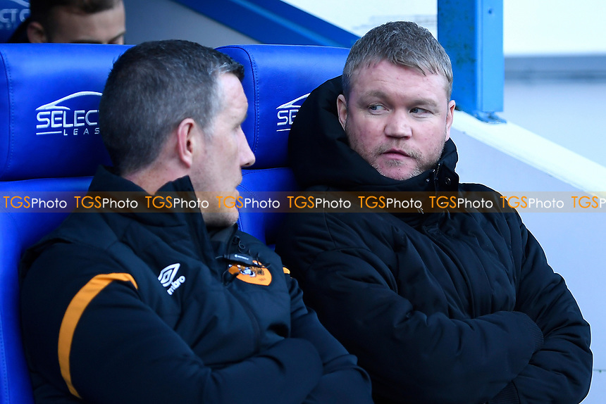 Hull City Manager Grant McCann right during Reading vs Hull City, Sky Bet EFL Championship Football at the Madejski Stadium on 8th February 2020