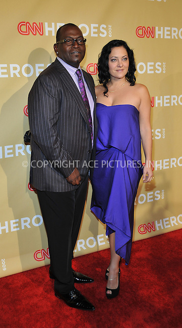 WWW.ACEPIXS.COM . . . . . ....November 21 2009, New York City....TV personality Randy Jackson and his wife Erika Jackson arriving at the 2009 CNN Heroes Awards at the Kodak Theatre on November 21, 2009 in Hollywood, California. ....Please byline: JOE WEST- ACEPIXS.COM.. . . . . . ..Ace Pictures, Inc:  ..(646) 769 0430..e-mail: info@acepixs.com..web: http://www.acepixs.com