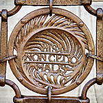 Iron ornamented fence, Ravenna, Italy<br /> <br /> These do not yield to evil