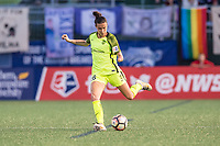 Boston, MA - Saturday April 29, 2017: Carson Pickett during a regular season National Women's Soccer League (NWSL) match between the Boston Breakers and Seattle Reign FC at Jordan Field.