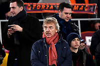 Poland football federation president and former AS Roma player Zbigniew Boniek on The stands ahead the Serie A 2018/2019 football match between AS Roma and Sassuolo at stadio Olimpico, Roma, December, 26, 2018 <br />  Foto Andrea Staccioli / Insidefoto