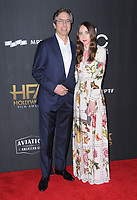 05 November  2017 - Beverly Hills, California - Ray Romano, Zoe Kazan. The 21st Annual &quot;Hollywood Film Awards&quot; held at The Beverly Hilton Hotel in Beverly Hills. <br /> CAP/ADM/BT<br /> &copy;BT/ADM/Capital Pictures