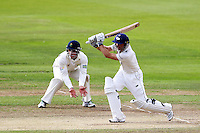 PICTURE BY ALEX WHITEHEAD/SWPIX.COM - Cricket - County Championship Div Two - Yorkshire v Glamorgan, Day 3 - Headingley, Leeds, England - 06/09/12 - Yorkshire's Adam Lyth hits out.