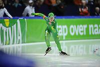SCHAATSEN: HEERENVEEN: IJsstadion Thialf, 10-11-2012, KPN NK afstanden, Seizoen 2012-2013, 500m Dames, Laurine van Riessen, ©foto Martin de Jong