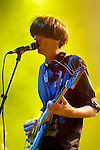 The band Deerhunter performs at Bumbershoot 2013 in Seattle, WA USA