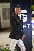 29th September 2017, Real Club de Polo de Barcelona, Barcelona, Spain; Longines FEI Nations Cup, Jumping Final; WILLIAMS Guy (GBR) before the final of Nations Cup