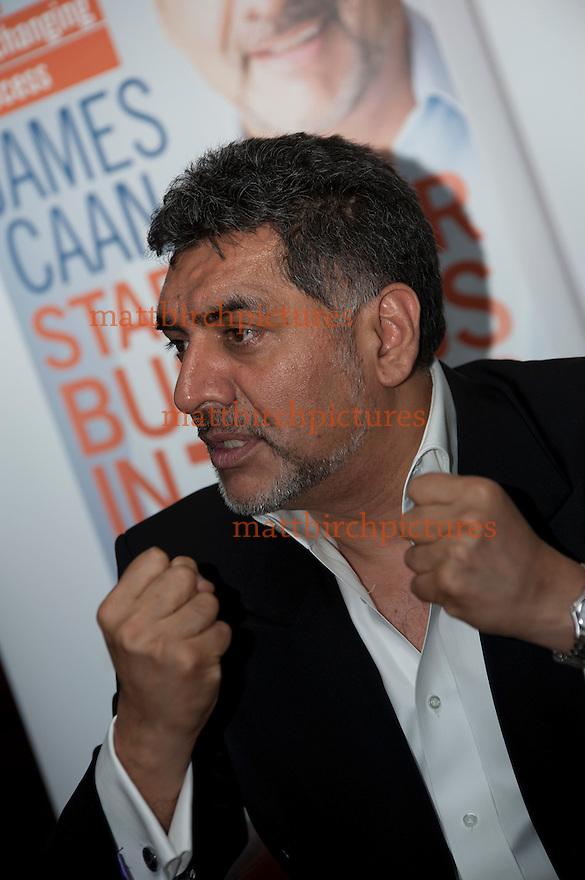 James Caan guest speaker at 02 business 2012