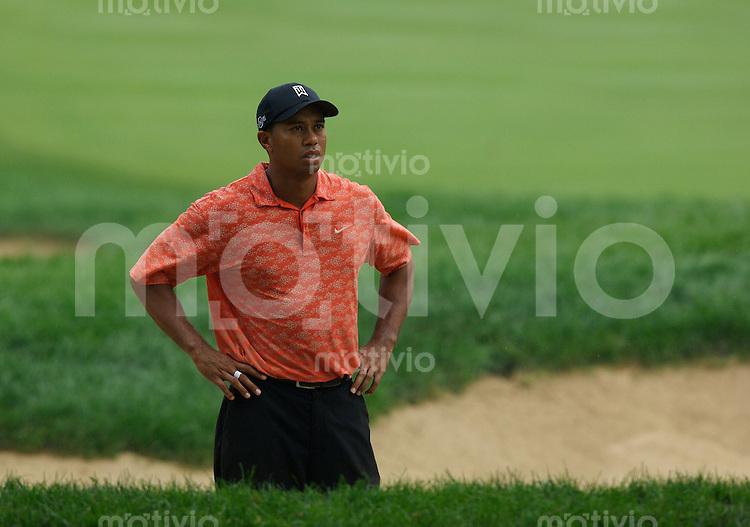 Tiger WOODS (USA) 2.Runde, 88th PGA Championship Golf, Medinah Country Club, IL, USA